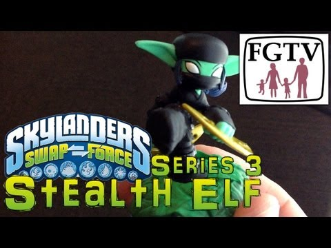 Skylanders Swap Force Stealth Elf Series 3 – Gameplay Hands-On at E3 - YouTube thumbnail