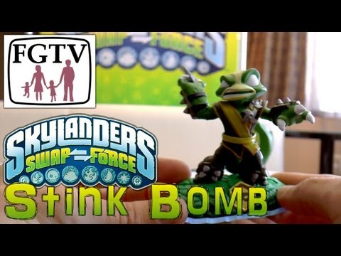 Skylanders Swap Force Stink Bomb – Hands-On Gameplay (3 of 6) - YouTube thumbnail