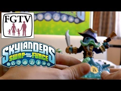 Skylanders Swap Force Wash Buckler and Rattle Shake – Hands-On Gameplay (4 of 6) - YouTube thumbnail