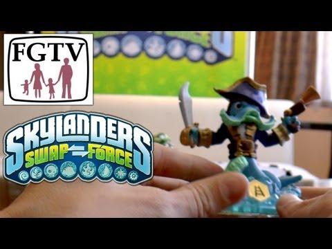 Skylanders Swap Force Wash Buckler and Rattle Shake – Hands-On Gameplay (4 of 6) - YouTube thumbnail