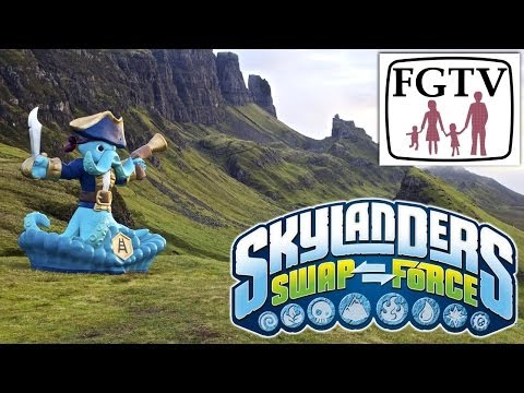 Skylanders Twinned With Isle of Skye by VisitScotland – We Get The Scoop - YouTube thumbnail