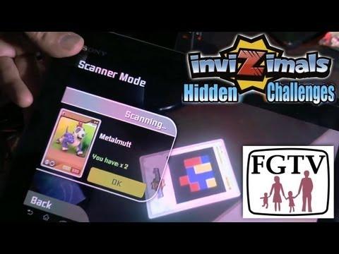 Skylanders vs Invizimals Hidden Challenges on iOS/Android/Vita