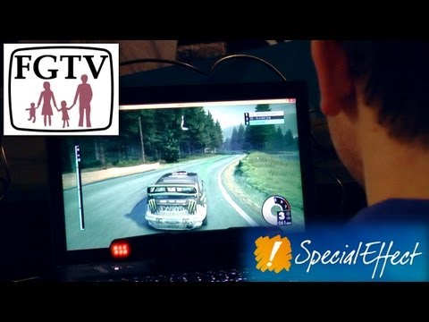 SpecialEffect CEO Enjoying Video-Games With A Disability - YouTube thumbnail