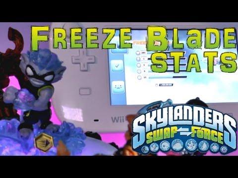 Stats Check: Freeze Blade – Skylanders Swap Force - YouTube thumbnail