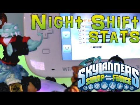 Stats Check: Night Shift – Skylanders Swap Force - YouTube thumbnail