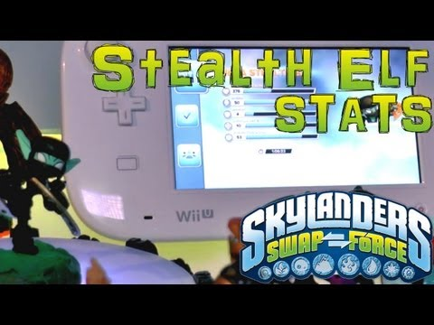 Stats Check: Stealth Elf Series 3 – Skylanders Swap Force - YouTube thumbnail