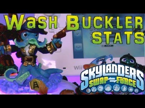 Stats Check: Wash Buckler – Skylanders Swap Force - YouTube thumbnail