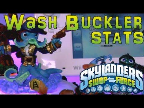 Stats Check: Wash Buckler – Skylanders Swap Force - YouTube thumbnail
