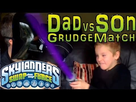 Sunday Grudge Match #10 – Dad & Son Swap Force Battle: Gnarly Treerex vs Treerex - YouTube thumbnail