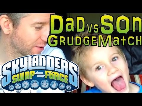 Sunday Grudge Match #12 – Dad & Son Swap Force Battle: Legendary Trigger Happy vs Legendary Jet Vac - YouTube thumbnail