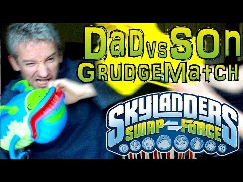 Sunday Grudge Match #2 – Dad & Son Swap Force Battle: Hoot Jet vs Night Shift in Quicksand Quarry - YouTube thumbnail