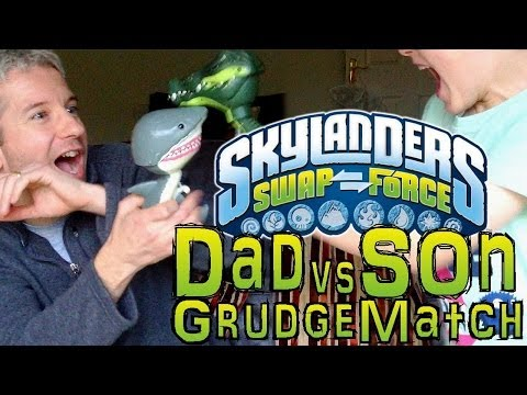 Sunday Grudge Match #4 – Dad & Son Swap Force Battle: Boom Loop vs Blast Shift in Ramparft Ruins - YouTube thumbnail