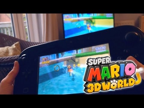 SUPER MARIO 3D WORLD – Wii U Family Hands On - YouTube thumbnail