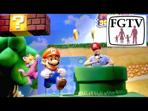 Super Mario 3D World Wii U Multi-Player Hands-On Gameplay at E3 - YouTube thumbnail