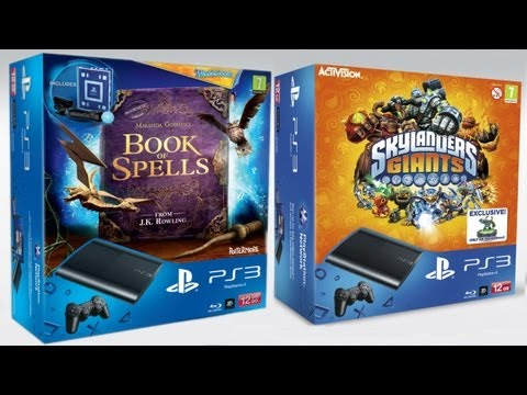 Super-Slim PS3 12GB Skylanders and Wonderbook Packs (FGTV 2.28)