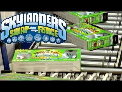 Swap Force Unboxed at Toys R Us – Off the Truck and Ready for Skylanders Sunday Launch - YouTube thumbnail