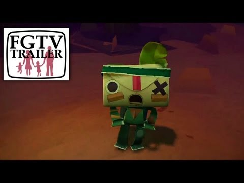 Tearaway (PS Vita) Trailer Sogport Gameplay - YouTube thumbnail