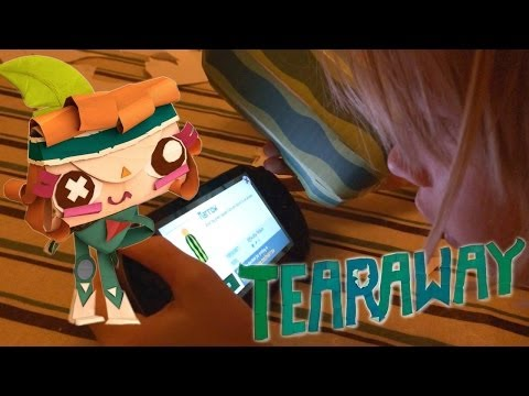 Tearaway Vita Family Test and Paper-Craft Explosion - YouTube thumbnail