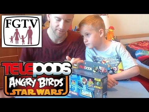 Telepods Review: Duel With Count Doku Angry Birds Star Wars II - YouTube thumbnail
