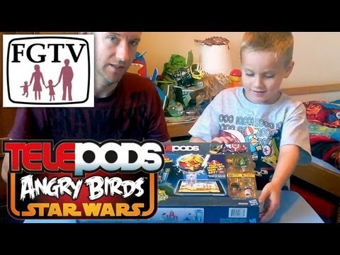 Telepods Review: Star Destroyer Angry Birds Star Wars II - YouTube thumbnail
