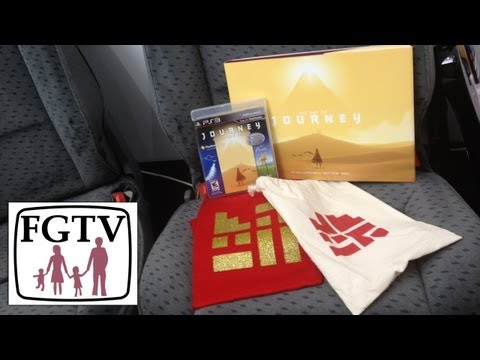 The Art of Journey and Journey Limited Edition PS3 Unboxing (FGTV 2.37) - YouTube thumbnail