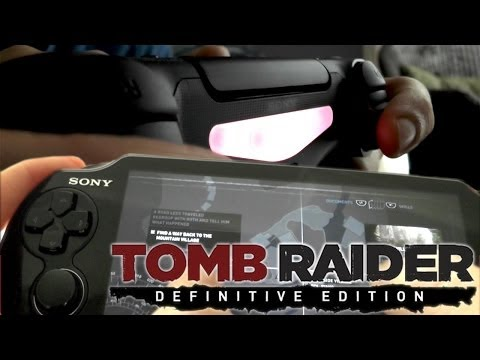 Tomb Raider Definitive PS4 beats Xbox One (Vita/DualShock vs. Kinect) - YouTube thumbnail