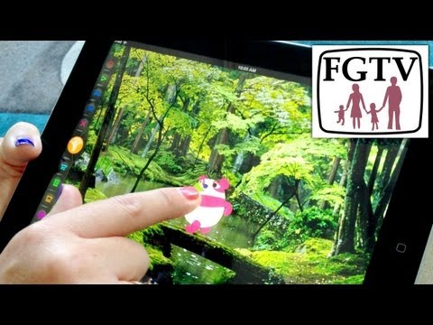 Toon Hero iPad Animation Hands-on Footage (2 of 2) - YouTube thumbnail