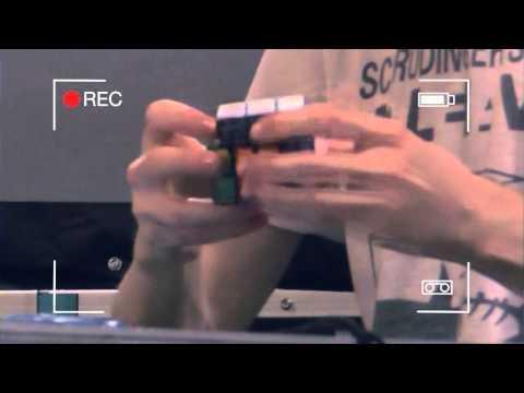 UK Champion 3 by 3 Blindfolded Matthew Sheerin - YouTube thumbnail