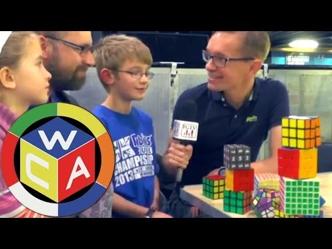UK Rubik's Championships Finals in O2 Academy - YouTube thumbnail