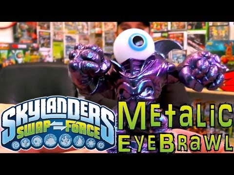 Unboxing Metallic Purple Eye Brawl – Skylanders Hunting - YouTube thumbnail