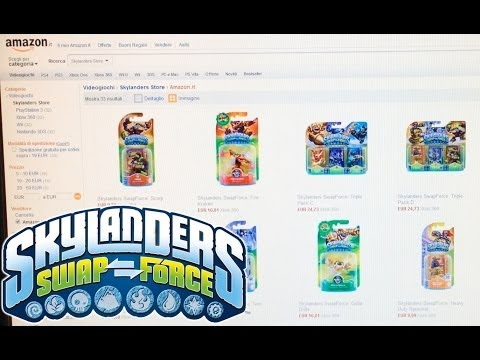Wave 2 Skylanders Swap Force Figures Leaked on Amazon Italy - YouTube thumbnail