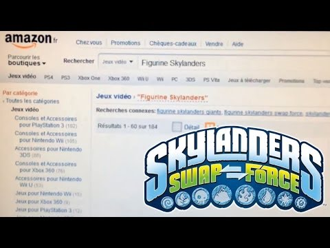 Wave 3 Skylanders Swap Force Characters Leaked on Amazon France - YouTube thumbnail