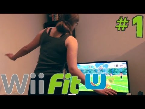 Wii Fit U Weekly Challenge (1 of 5) – First Steps Towards Fitness - YouTube thumbnail