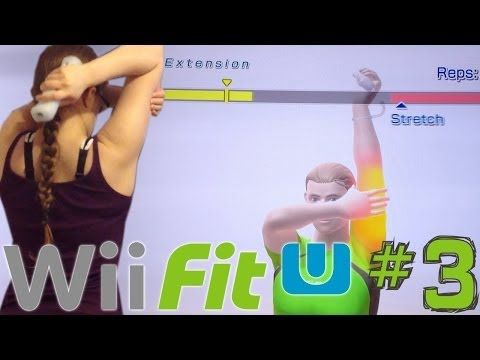 Wii Fit U Weekly Challenge (3 of 5) – Personal Exercise Program - YouTube thumbnail