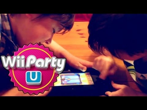 Wii Party U – Table Top Boxing and Rowing Mini-games - YouTube thumbnail