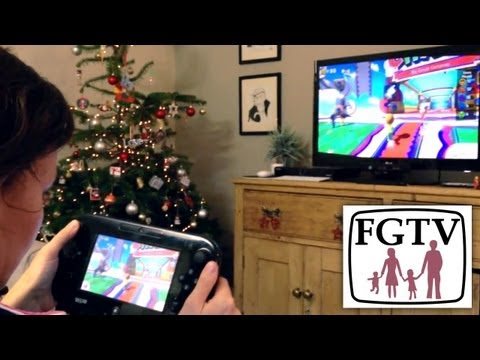 Wii U Family Hands-On with Nintendo Land and New Super Mario Bros U (FGTV 2.67) - YouTube thumbnail