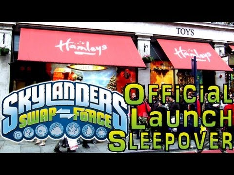 Win: £2500 Swap Force Launch Sleep Over – Official Skylanders Sleepover At Hamleys Toy Store - YouTube thumbnail