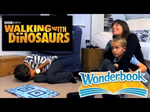 Wonderbook BBC Walking With Dinosaurs – Family Test - YouTube thumbnail
