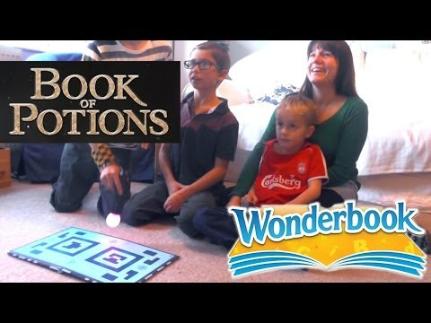 Wonderbook Book of Potions – Family Plays For First Time - YouTube thumbnail