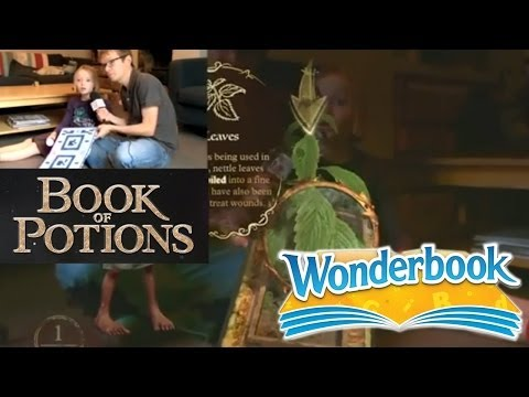 Wonderbook Book of Potions – Harry Potter Family Test