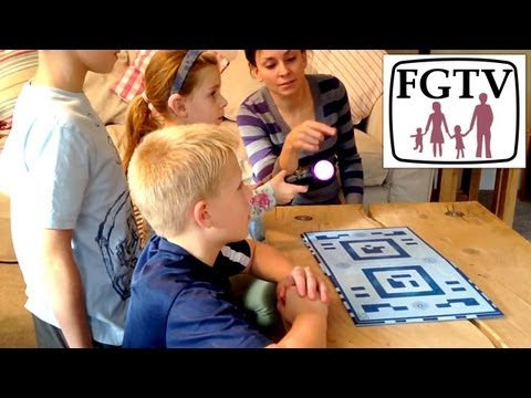 Wonderbook: Book of Spells Hands-On Preview with Family (FGTV 2.48) - YouTube thumbnail