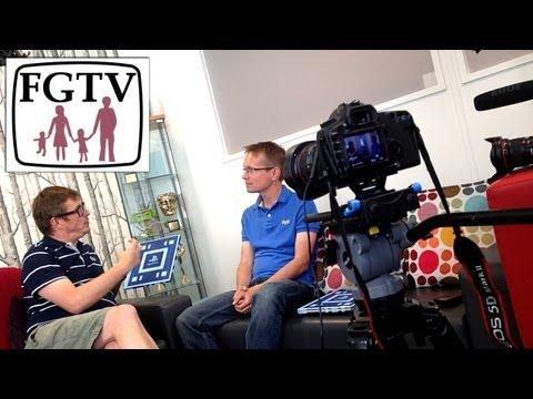 Wonderbook: Book of Spells Studio Tour with Dave Ranyard (1 of 2) (FGTV 2.34) - YouTube thumbnail
