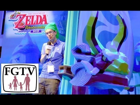 Zelda Wind Waker HD Wii U Hands-On Gameplay at E3 - YouTube thumbnail