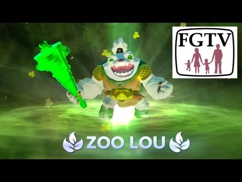 Zoo Lou Core Skylander PS4 Game-Play and Hands-On from Gamescom - YouTube thumbnail