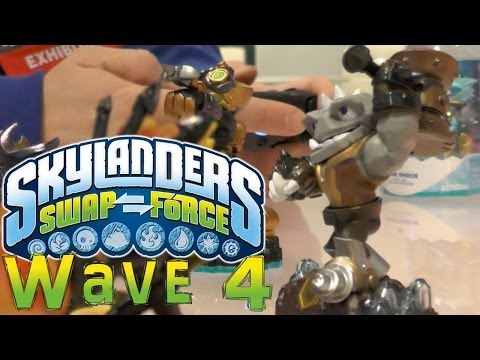 Activision Talk Skylanders 4 and Swap Force Wave 4 - YouTube thumbnail