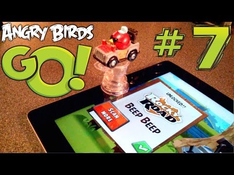 Angry Birds Go! Let's Play #7 – Special Edition Beep Beep & Big Bang karts - YouTube thumbnail