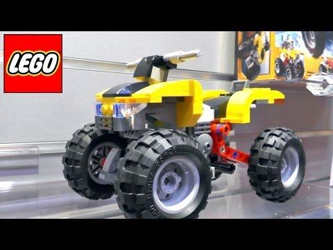 Lego Creators – 31022 Turbo Quad / 31025 Mountain Hut / 31026 Bike Shop & Cafe - YouTube thumbnail