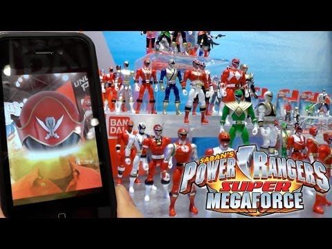 Mega Force Power Rangers, Legacy Morpher, Dragon Dagger, Titanus and Green Dragon Zords - YouTube thumbnail