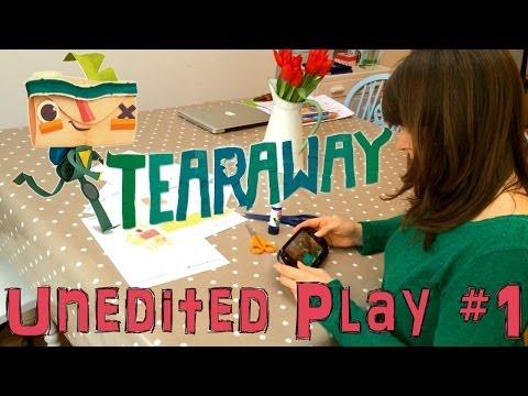 Mum Plays Tearaway on Vita – Unedited Let's Play #1