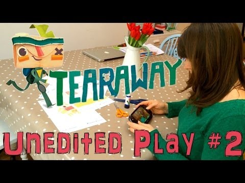 Mum Plays Tearaway on Vita – Unedited Let's Play #2